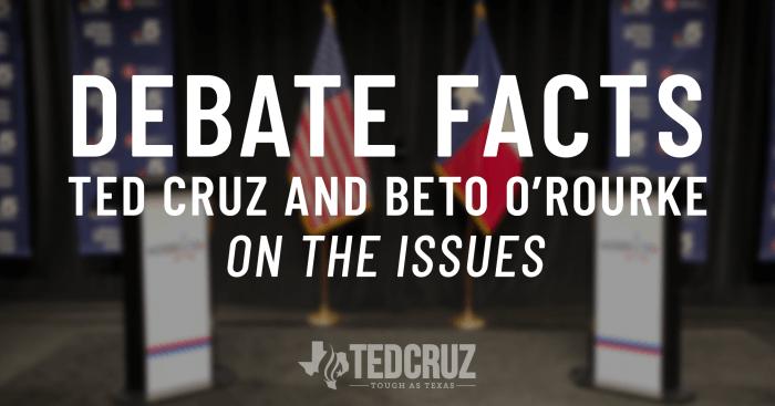 Ted Cruz vs Beto O'Rourke On Energy - Ted Cruz for Senate